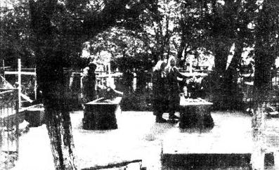 Старое кладбище Таганрога. Часовня старца Павла