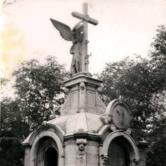 Посещение губернатором Ростовской области В.Ю.Голубевым старого кладбища