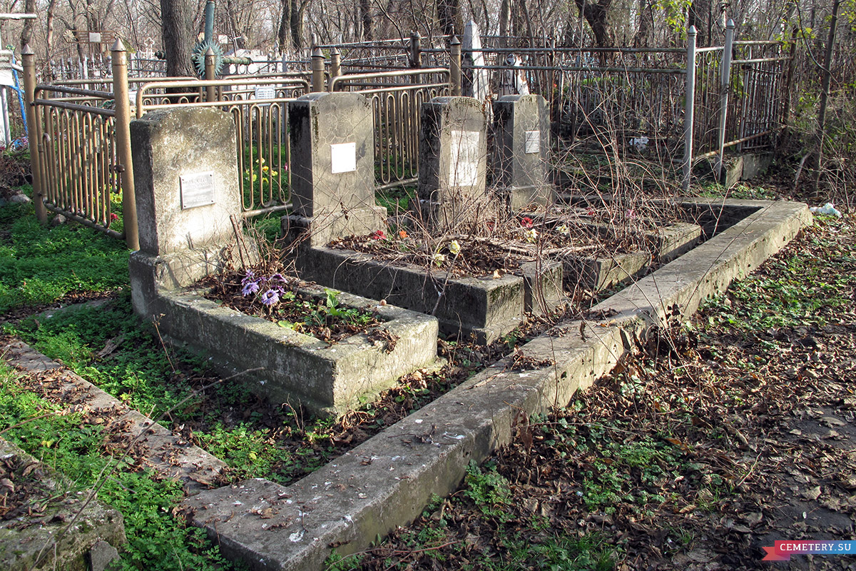 Старое кладбище Таганрога. Семья Раскито и Кульковых